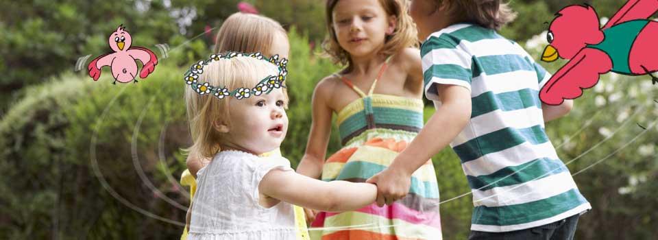 Foto Kinderen Tuin